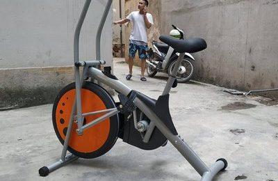 xe đạp tập Air bike MK77